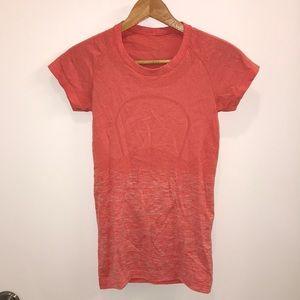 Orange LuLuLemon T-Shirt